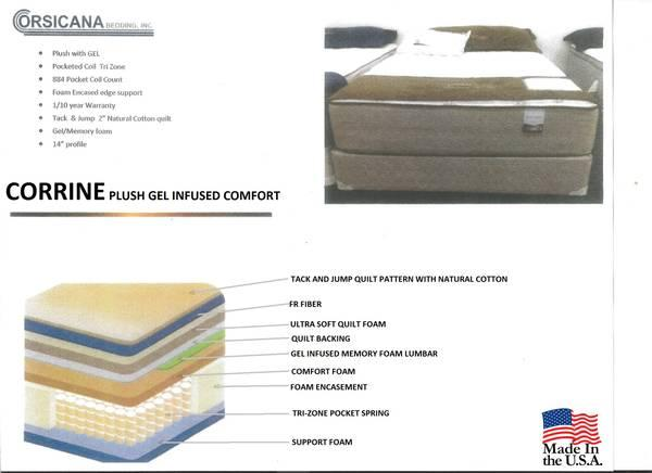 NEW FULL CORRINE PLUSH MATTRESS for Sale in Denver