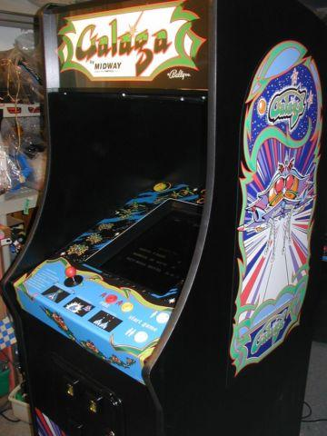 New Galaga upright arcade cabinet with Ms Pacman Pacman 60 games