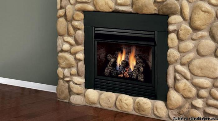New Gas Insert Vent Free Works With Liquid Propane Only