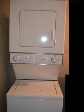 Exceptional NEW GE STACKABLE Washer/dryer Apartment Size
