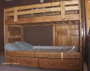 New Handcrafted Bunk And Loft Beds Pillager Mn For Sale In