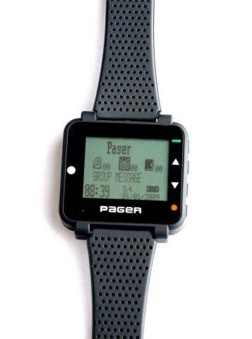 NEW - High Tech Watch Pager  Beeper - Nice  Sleek MUST HAVE