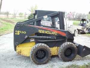 NEW HOLLAND LS160 SKIDSTEER - $13500 (S.LINCOLN)