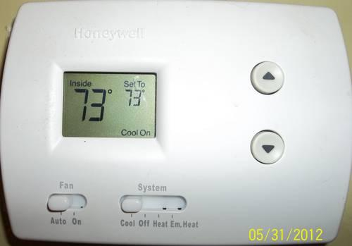 New Honeywell Thermostat Installed For Your Home For Sale