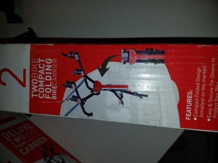 New in box Allen Sports MT2 folding Bike carrier