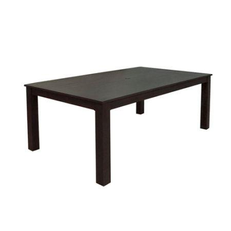 New in box cast aluminum rectangle patio dining table for Patio table only for sale