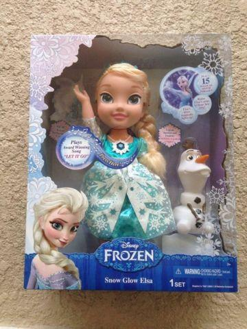 box disney frozen  snow glow elsa doll  sale  spokane washington classified
