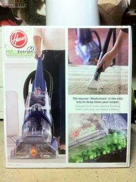 New In Box Hoover Maxextract 60 Pressure Cleaner W Extra
