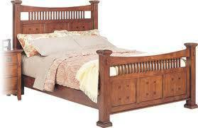 New in box SOLID wood twin bed