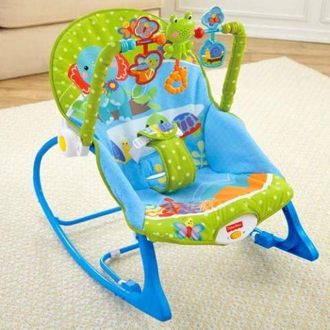 NEW-INFANT TO TODDLER PORTABLE ROCKER-FISHERPRICE-$20