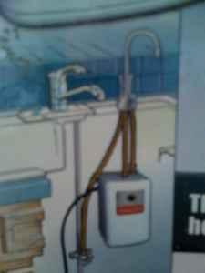 New instant hot water system for kitchen - $225