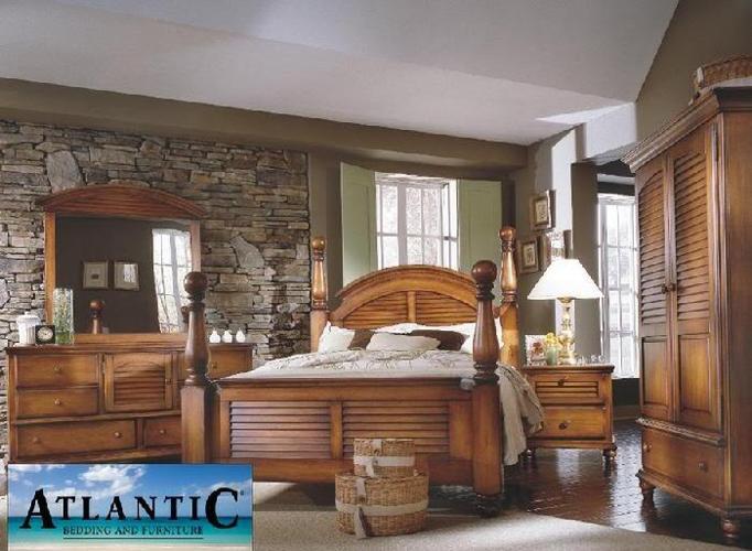 new irish countryside queen bedroom set light wood