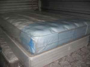 new king size double sided thick plush mattress set