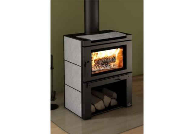 New Large Wood Stove Modern Design Osburn Matrix 80 000