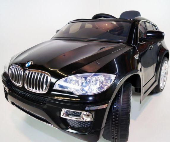 New Licensed Bmw X6 Kids Ride On Power Wheels Battery Toy Car Black