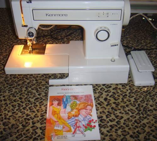 kenmore sewing machine model 158 price