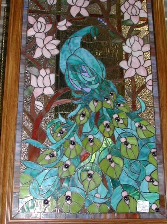 New load Antique Style Stained Glass Windows