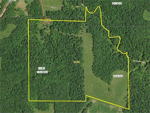 New London, MO Ralls Country Land 97.000000 acre