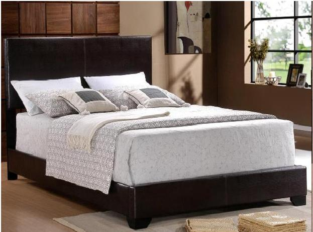 @@*NEW LOW-PROFILE QUEEN LEATHER HEADBOARD BED*@@ -