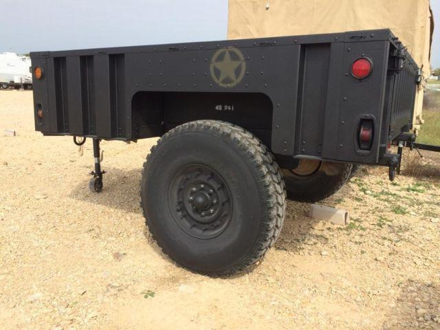 New M1101 and M1102 Tactical light military trailers. for ...
