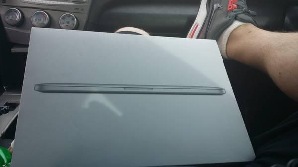 New Mac book Pro retina display - $1200