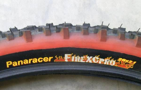 new mountain bike tire panaracer fire xc pro 26 x red sidewall for sale in erwin heights. Black Bedroom Furniture Sets. Home Design Ideas