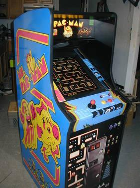 New Ms Pac Man Galaga Pacman Upright Video Arcade Game 60