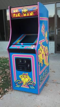New Ms Pacman Galaga Arcade Game - Plays 60 Games - $1499