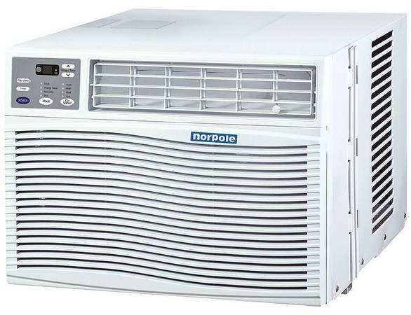 New norpole 12000 btu window air conditioner for sale in for 12000 btu window units