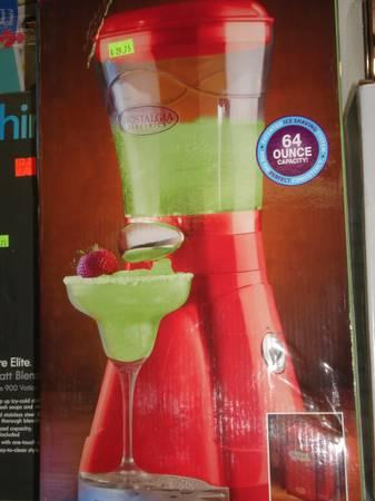 New Nostalgia Electric MARGARATOR FROZEN DRINK Margarita Maker MACHINE - $30