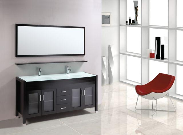 New On Sale Acapulco 60 Bathroom Vanity Double Sink For Sale In