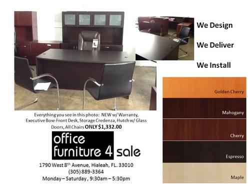 NEW or USED Office Funiture in Miami, FL! 30% - 70%