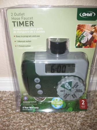 New Orbit 2 Outlet Hose Watering Timer For Sale In Glendale