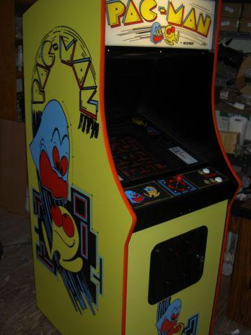 New Pac man upright arcade cabinet with Ms Pacman Galaga 60 games