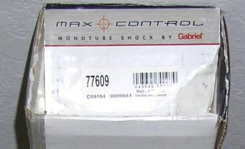 Gabriel 77609 MAX CONTROL Monotube Shock Absorber