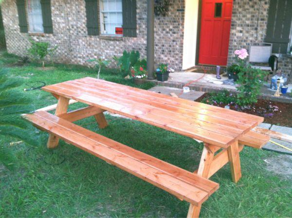 New premium build picnic tables - $185 (Pensacola)