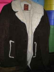 NEW PRICE--Mens brown suede coat-sz.42 - $45 Ames, Iowa