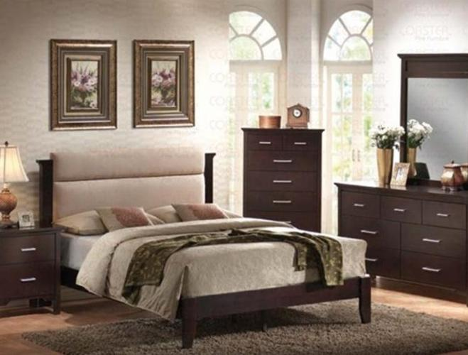 New Queen 4pc Bedroom Set With A Microfiber Headboard Columbia For Sale In Columbia South