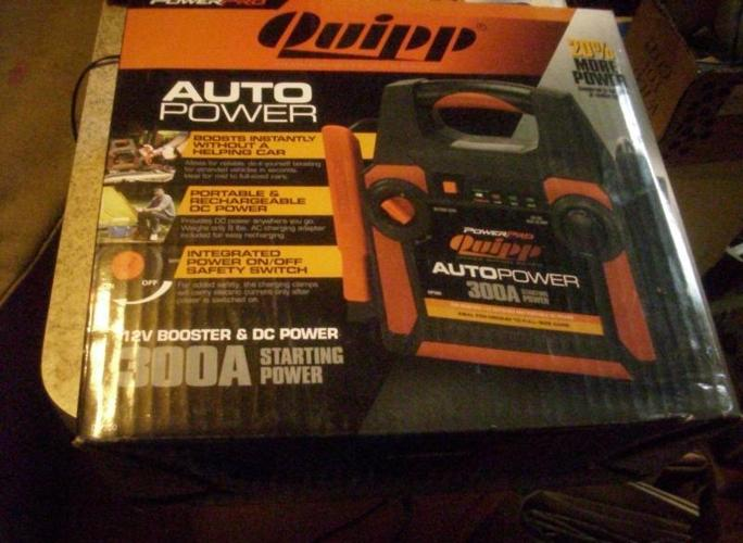 NEW-QUIPP POWER PRO PORTABLE 300A AUTO BATTERY