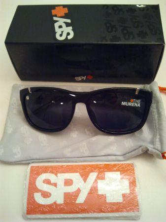 560a8a25fd New Rare Spy Murena West Coast Customs Gloss Black Sunglasses ...