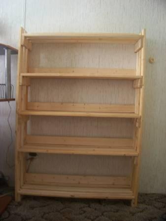 New REAL WOOD very sturdy apple crate style bookcases and shoe racks
