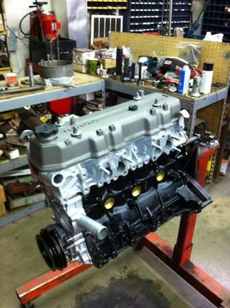 new rebuilt toyota 22re engine for sale in wrightsville