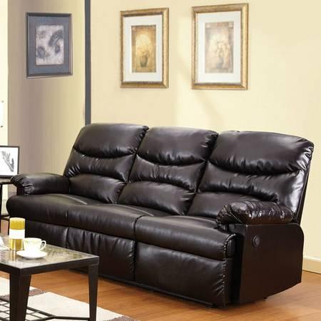 Superb New Reclining Sofa Bonded Leather 498 Creativecarmelina Interior Chair Design Creativecarmelinacom