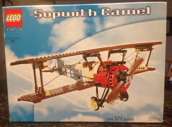 NEW Retired 3451 LEGO SOPWITH CAMEL PLANE - for Sale in Chelsea