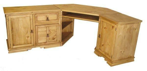 New Rustic 3 Pc Corner Desk For Sale In Connor Texas