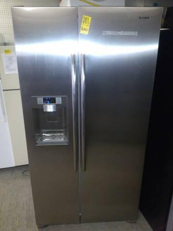 New Samsung Side By Side Counter Depth Fridge For Sale In