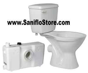 New Saniflo Basement Bathroom Upflush Toilets Amp Pumps