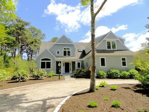 New Seabury Golf Front Contemporary Cape For Sale In