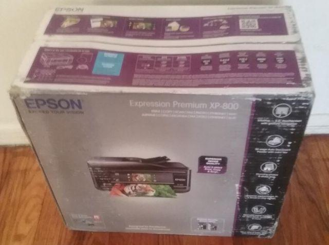 New Sealed Epson Expression Premium Scanner Printer Copier Fax Machine