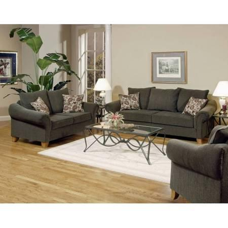 New serta cannon smoke sofa love seat for sale in for Affordable furniture warehouse texarkana
